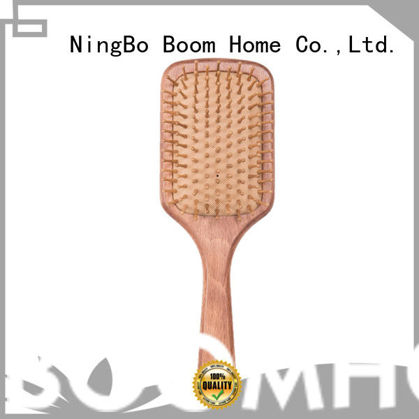 Boom Home care wooden comb factory for travel