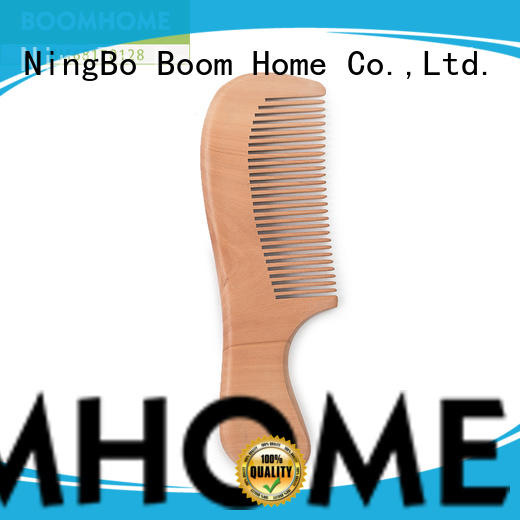 eco-friendly wooden hair comb label with good price for hotel