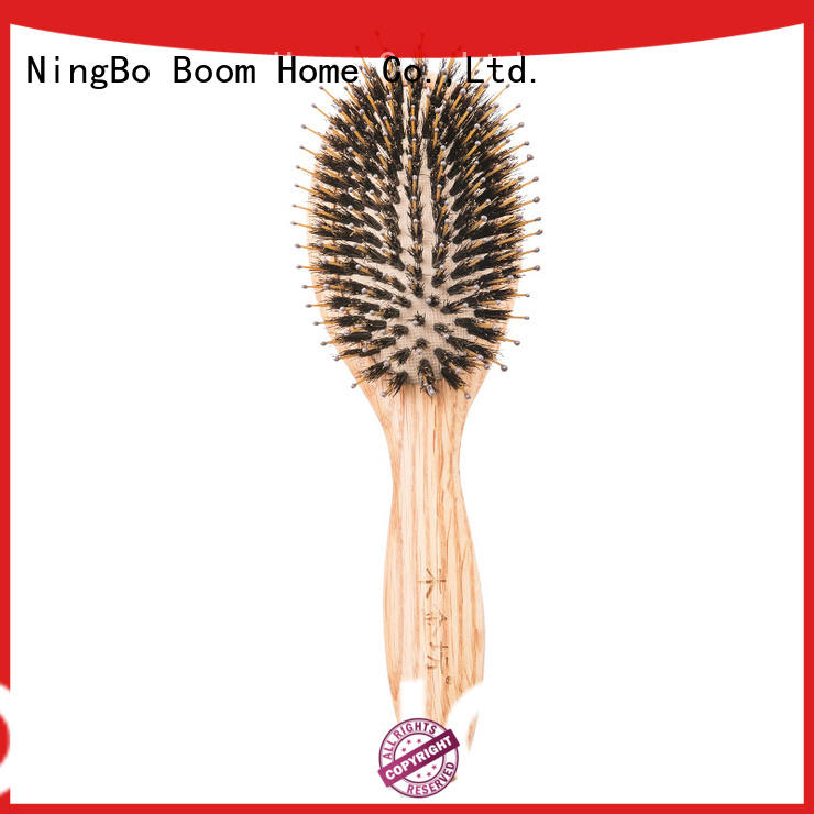 Boom Home brushes wooden paddle brush factory for home
