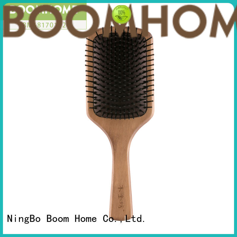 round hair brushes wooden handle boar for home Boom Home