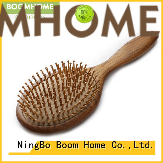 Boom Home Top wooden hair brush supply for hotel