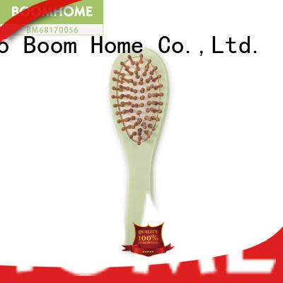 Easy Carrying Detangler Wooden Boar Bristle Hair Brush