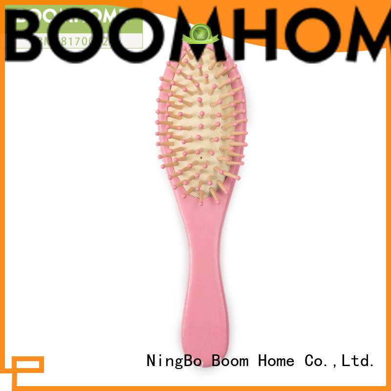 Boom Home noble wood hair brush with good price for shop