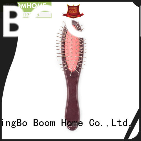 fashion wooden paddle brush with good price for home