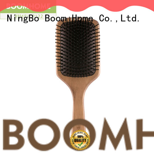 Boom Home noble wooden paddle brush factory for home