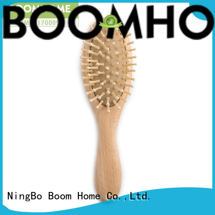 Boom Home boar hair baby hairbrush manufacturers for household