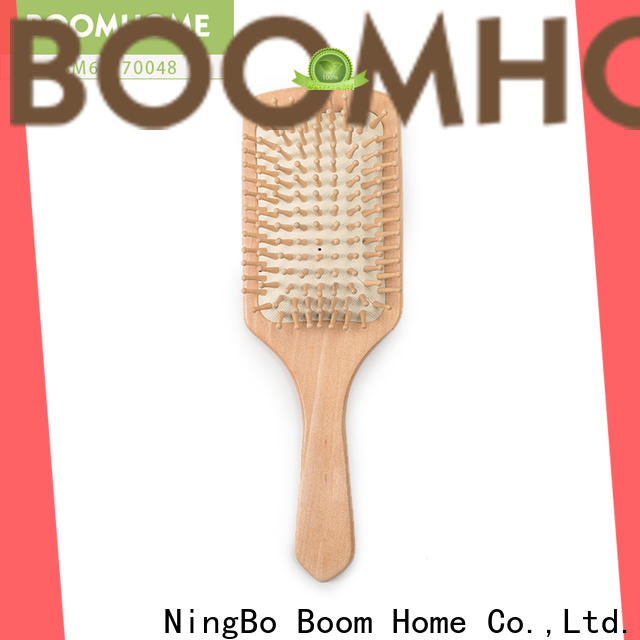 Boom Home High-quality bamboo comb factory for thick hair