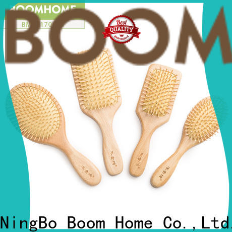 Boom Home steel wooden paddle brush factory for home