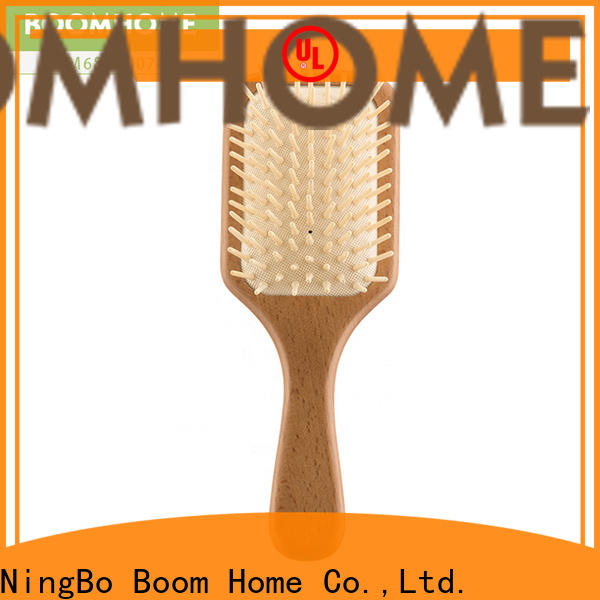 Boom Home men wooden hair comb factory for shop