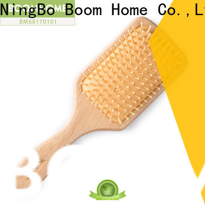 Boom Home Top wooden paddle hair brush for business for shop