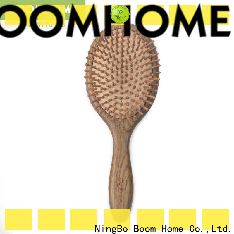 Top wood hair brush gifts manufacturers for travel