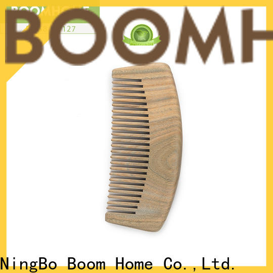 Boom Home Latest wooden paddle hair brush manufacturers for hotel
