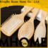 Wholesale wooden paddle hair brush pin for business for shop
