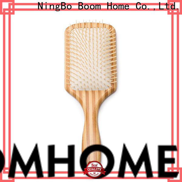Boom Home needle wooden paddle hair brush factory for home