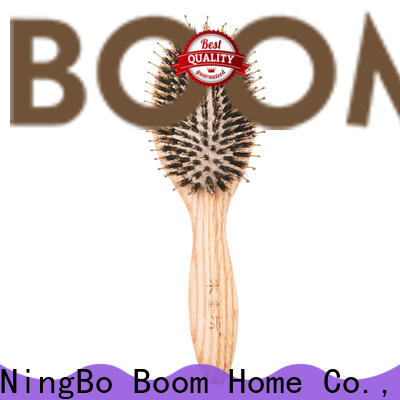 Boom Home Best wooden paddle brush company for travel