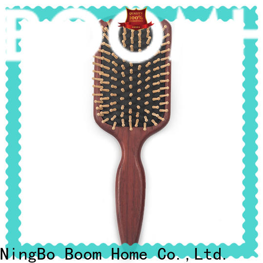 Boom Home Top wooden hair brush suppliers for travel