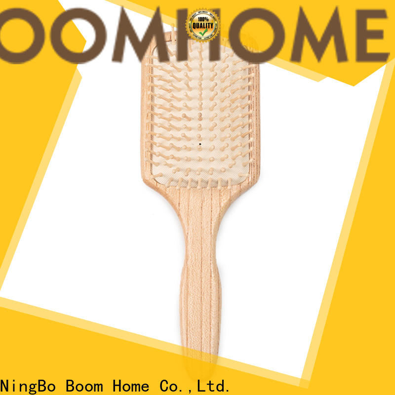 Boom Home brands wooden hair brush for sale for travel