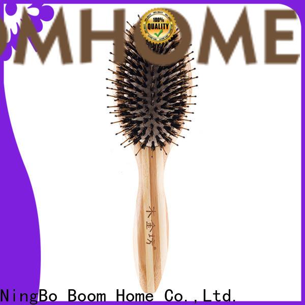 Boom Home beard care boar bristle hair brush manufacturers for men