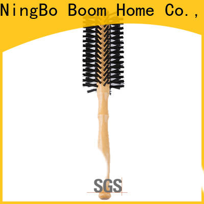 Boom Home handle round hair brush factory for travel