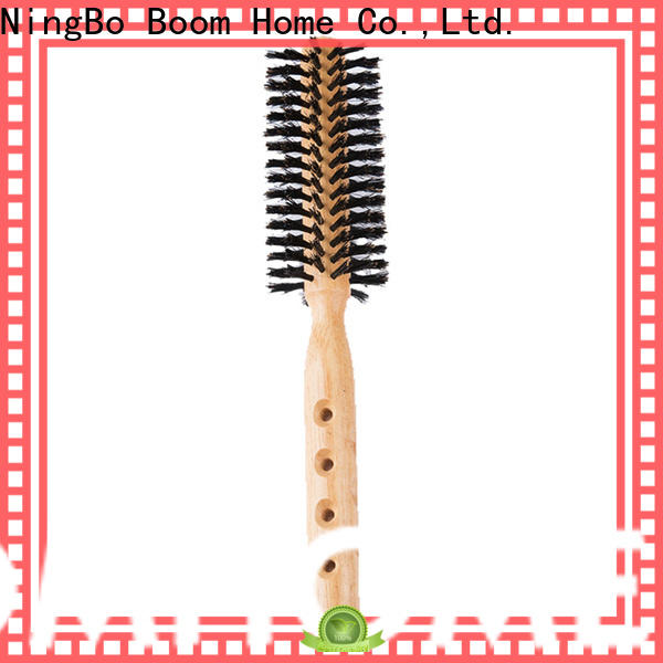 Boom Home dryer round bristle brush suppliers for travel