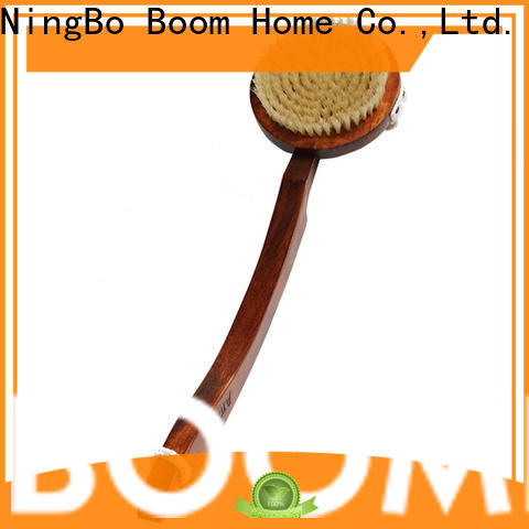 Boom Home long handle baby bath brush supply for dry skin