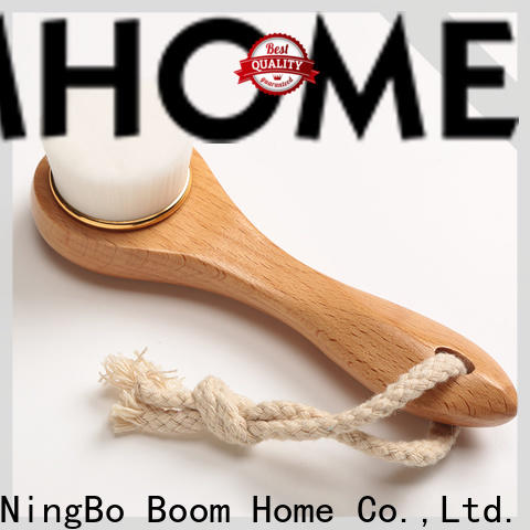 Boom Home eco-friendly natural bristle face brush factory for makeup
