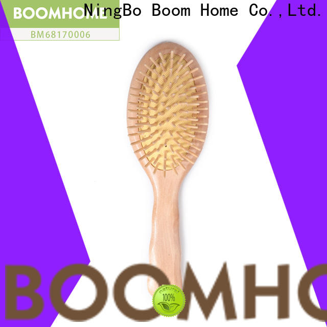 Boom Home bespoke wooden hair comb suppliers for travel