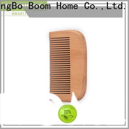 Boom Home airbag wooden hair comb suppliers for travel