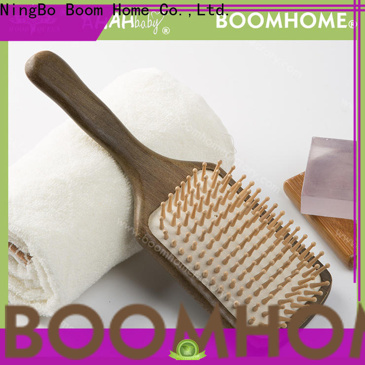 Boom Home New wood hair brush supply for home