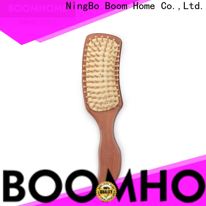 Wholesale wooden comb detangling factory for hotel