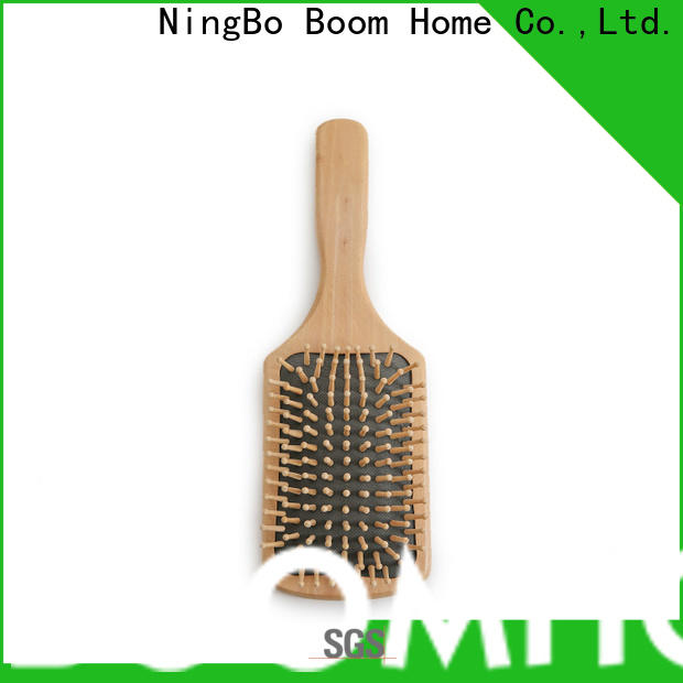 Boom Home Latest wooden paddle hair brush company for shop