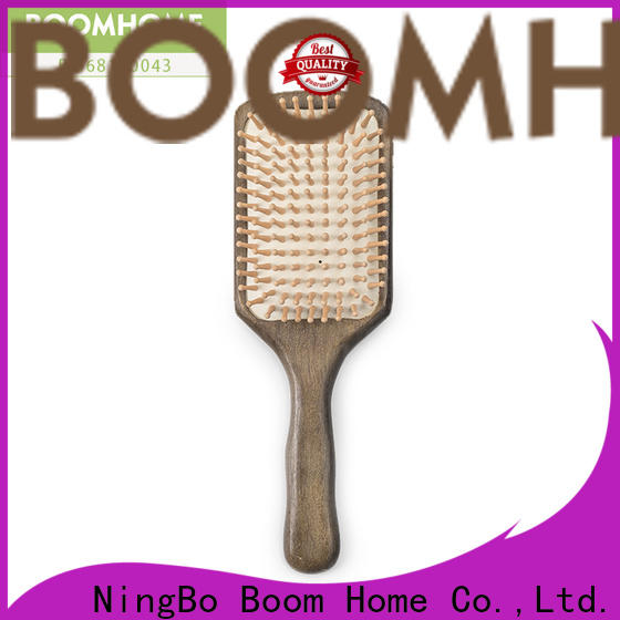 Boom Home High-quality wood hair brush supply for hotel