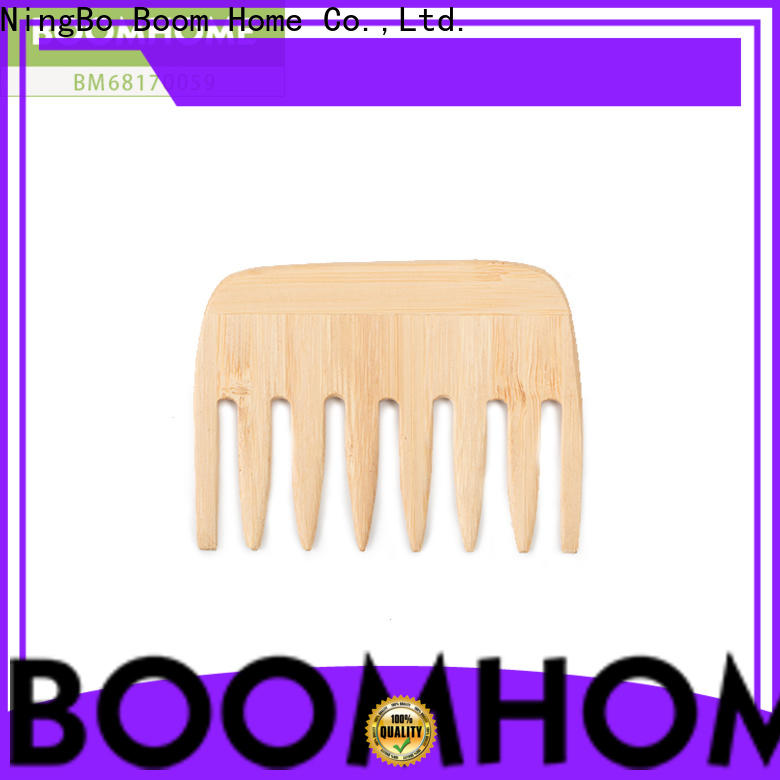 Boom Home scalp wooden handle hair brush for sale for shop