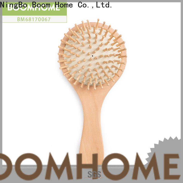High-quality wooden handle hair brush massage for sale for shop