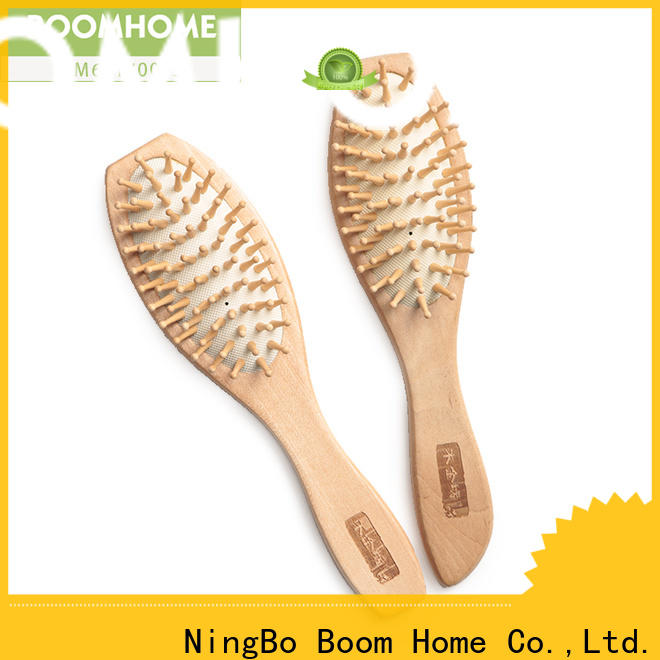 Boom Home Best wooden hair brush suppliers for travel