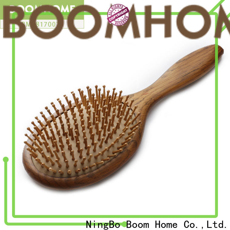 Latest wooden paddle brush retro suppliers for travel