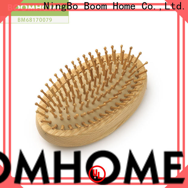 Boom Home New wood hair brush for sale for travel