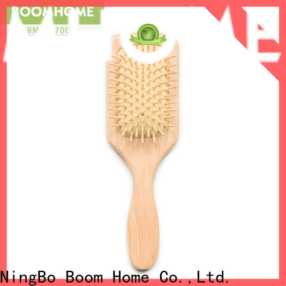 Top wooden handle hair brush holiday suppliers for shop