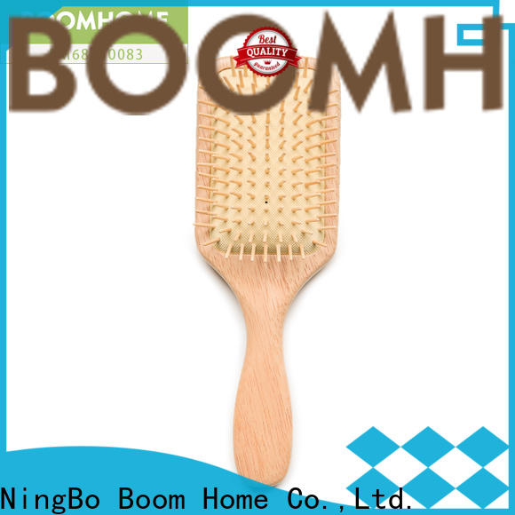 High-quality wooden hair brush cushion for business for hotel