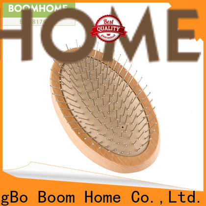 Boom Home Top wooden paddle brush factory for shop
