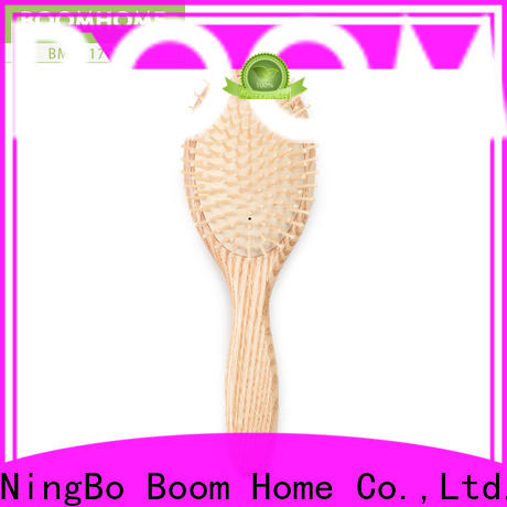 Boom Home High-quality wooden hair comb for sale for shop