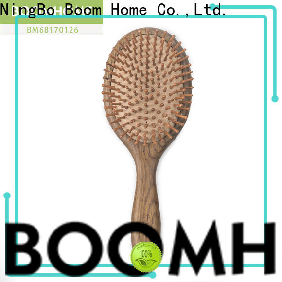 Boom Home brands wooden paddle hair brush supply for hotel