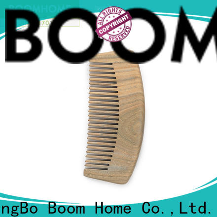 Boom Home portable wooden comb supply for hotel