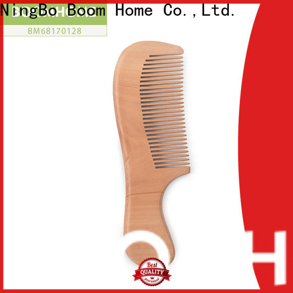 Boom Home black wood hair brush factory for travel