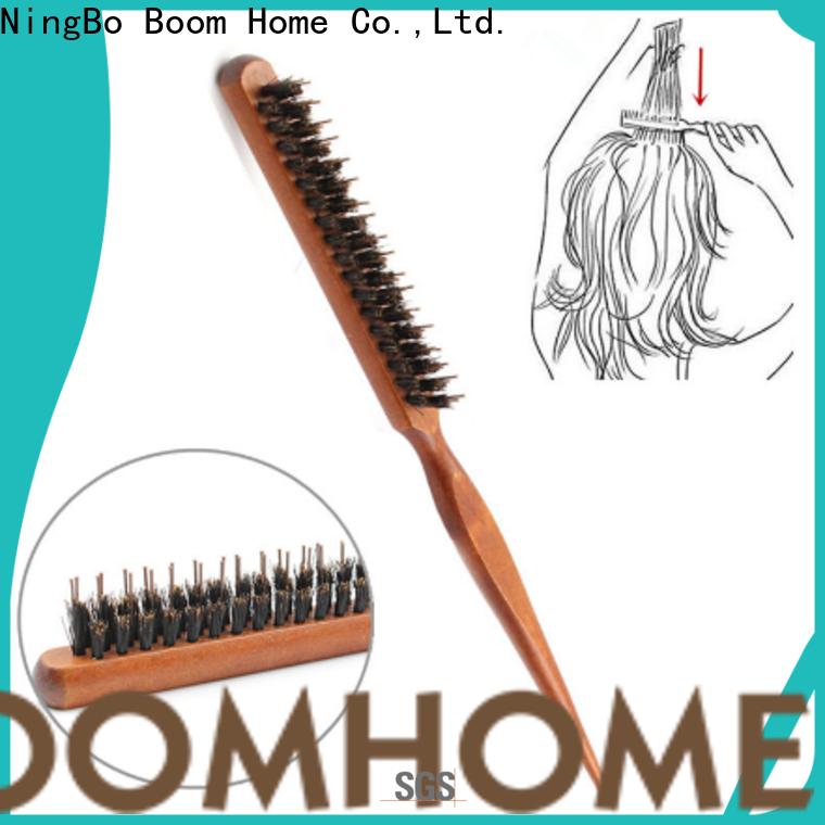 Best boar bristle hair brush beard care factory for women