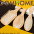 Boom Home gift wooden paddle hair brush factory for hotel