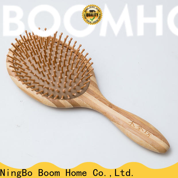 Boom Home beard wooden hair brush for sale for home
