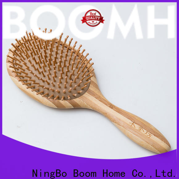 Boom Home New bamboo hair brush suppliers for men