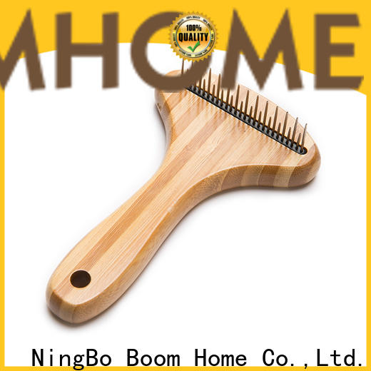 Boom Home removing pet grooming brush company for fur