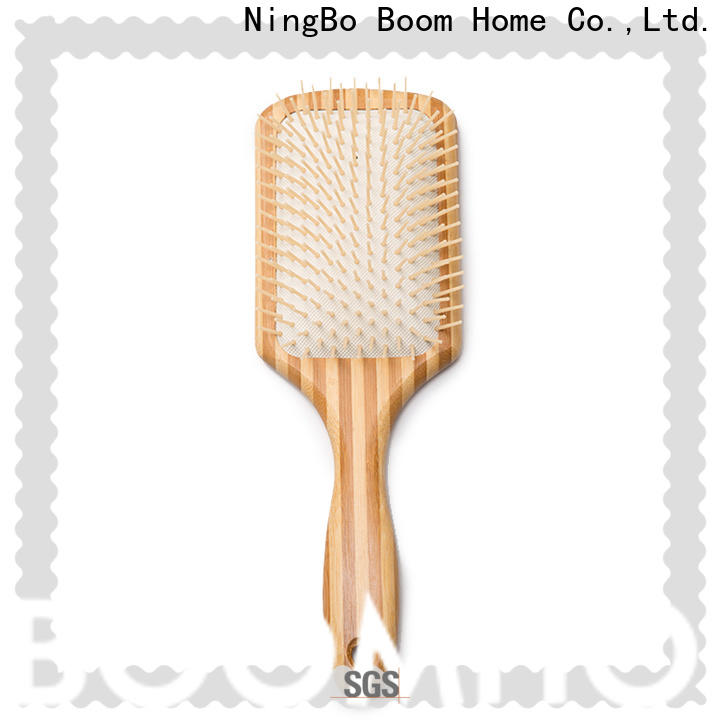 Boom Home Custom wooden paddle brush for business for shop